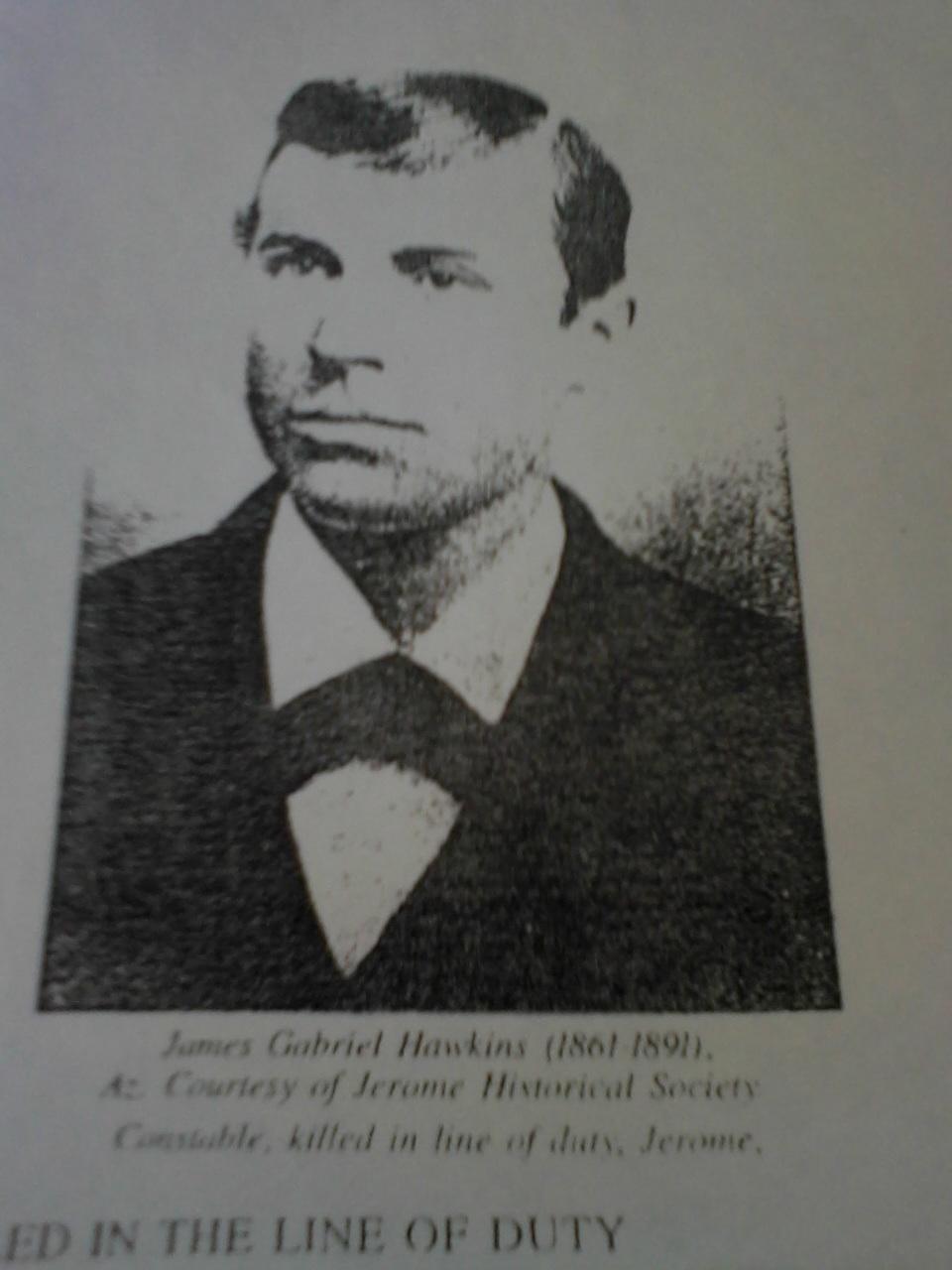 Constable James Gabriel Hawkins   Yavapai County Constable's Office, Arizona