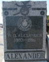 City Marshal William Oscar Alexander | Hoxbar Marshal's Office, Oklahoma