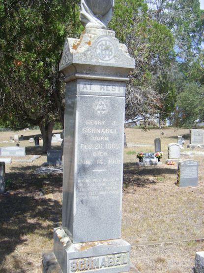 Posseman Henry J. Schnabel | Gonzales County Sheriff's Department, Texas