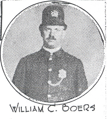 Patrolman William C. Boers | Cincinnati Police Department, Ohio