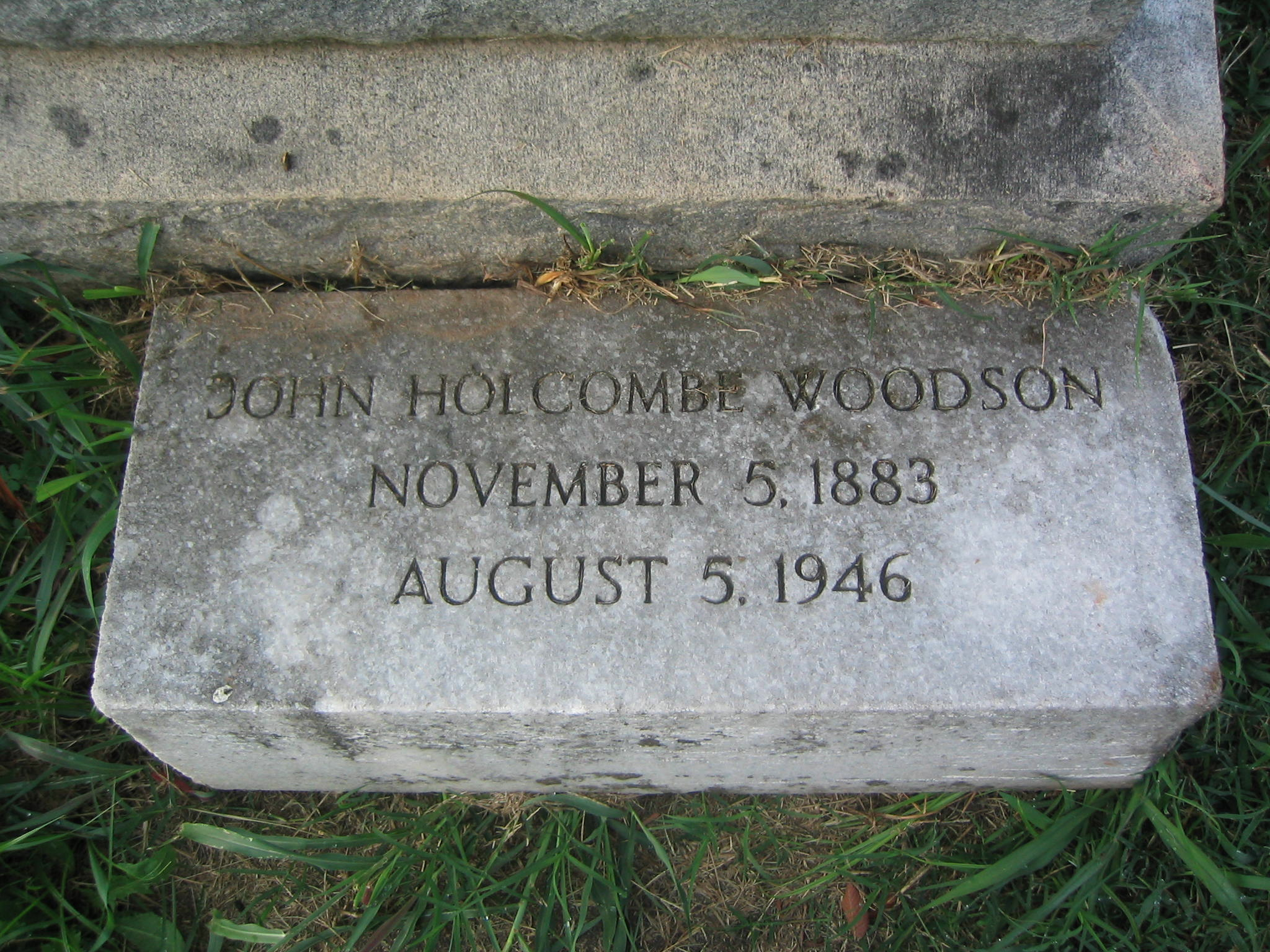 Sergeant John Holcombe Woodson   Southern Railway Police Department, Railroad Police