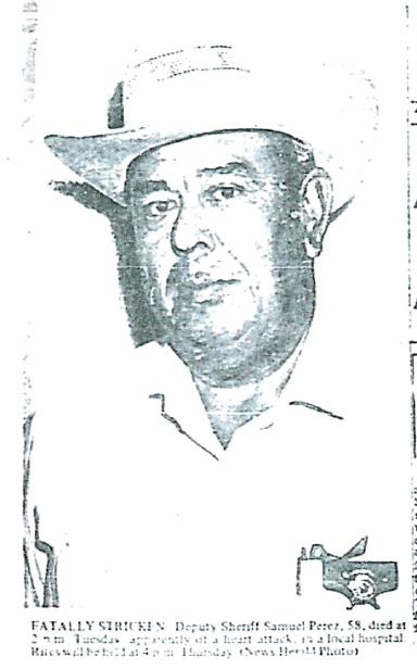 Deputy Sheriff Samuel C. Perez | Val Verde County Sheriff's Office, Texas