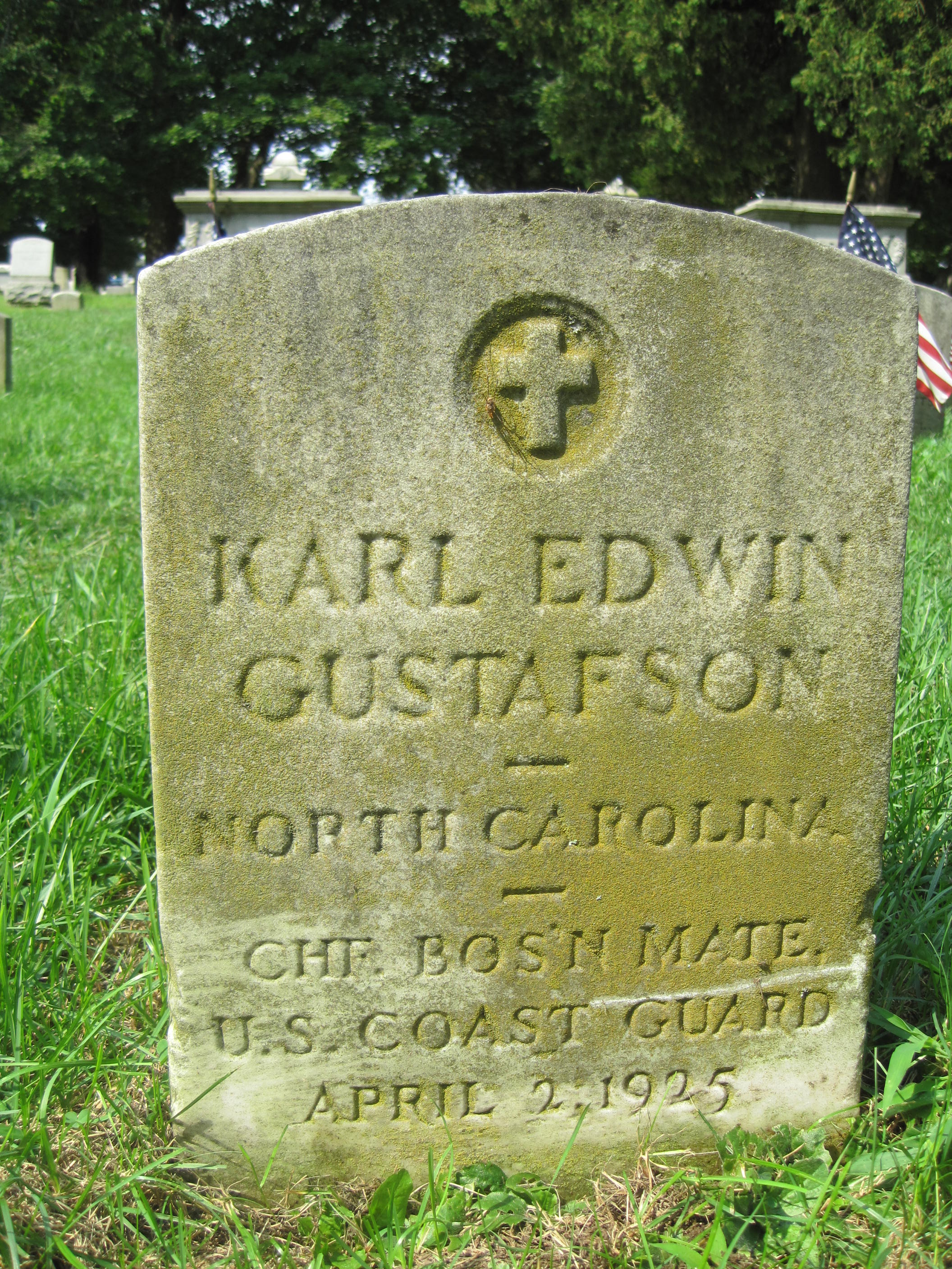 Coast Guardsman Karl Edwin Gustafson | United States Coast Guard Office of Law Enforcement, U.S. Government