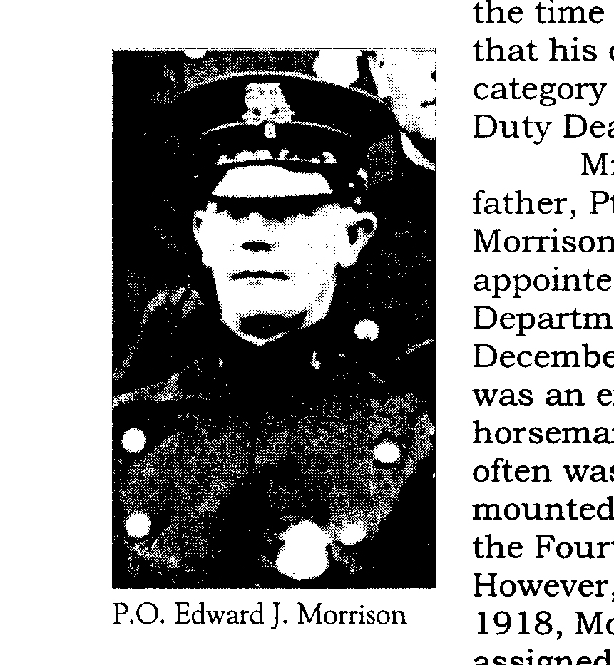 Police Officer Edward J. Morrison | Yonkers Police Department, New York
