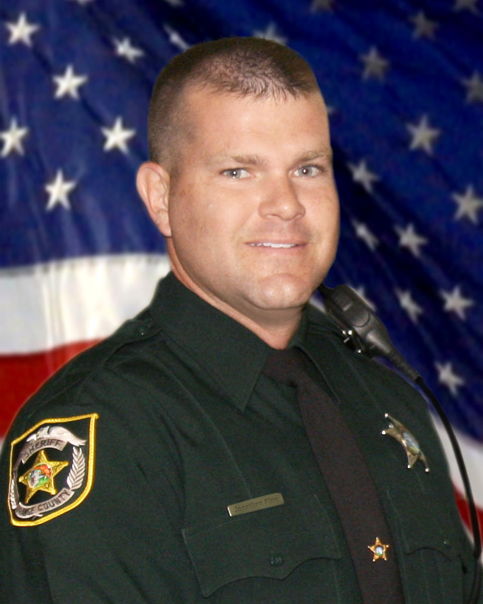 Deputy Sheriff Jonathan Scott Pine   Orange County Sheriff's Office, Florida
