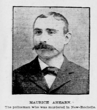 Special Police Officer Maurice Ahearn   New Rochelle Police Department, New York