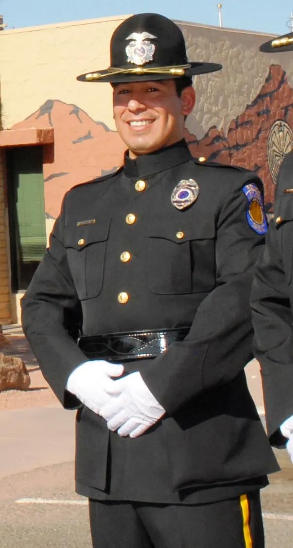Police Officer Jair Abelardo Cabrera   Salt River Police Department, Tribal Police