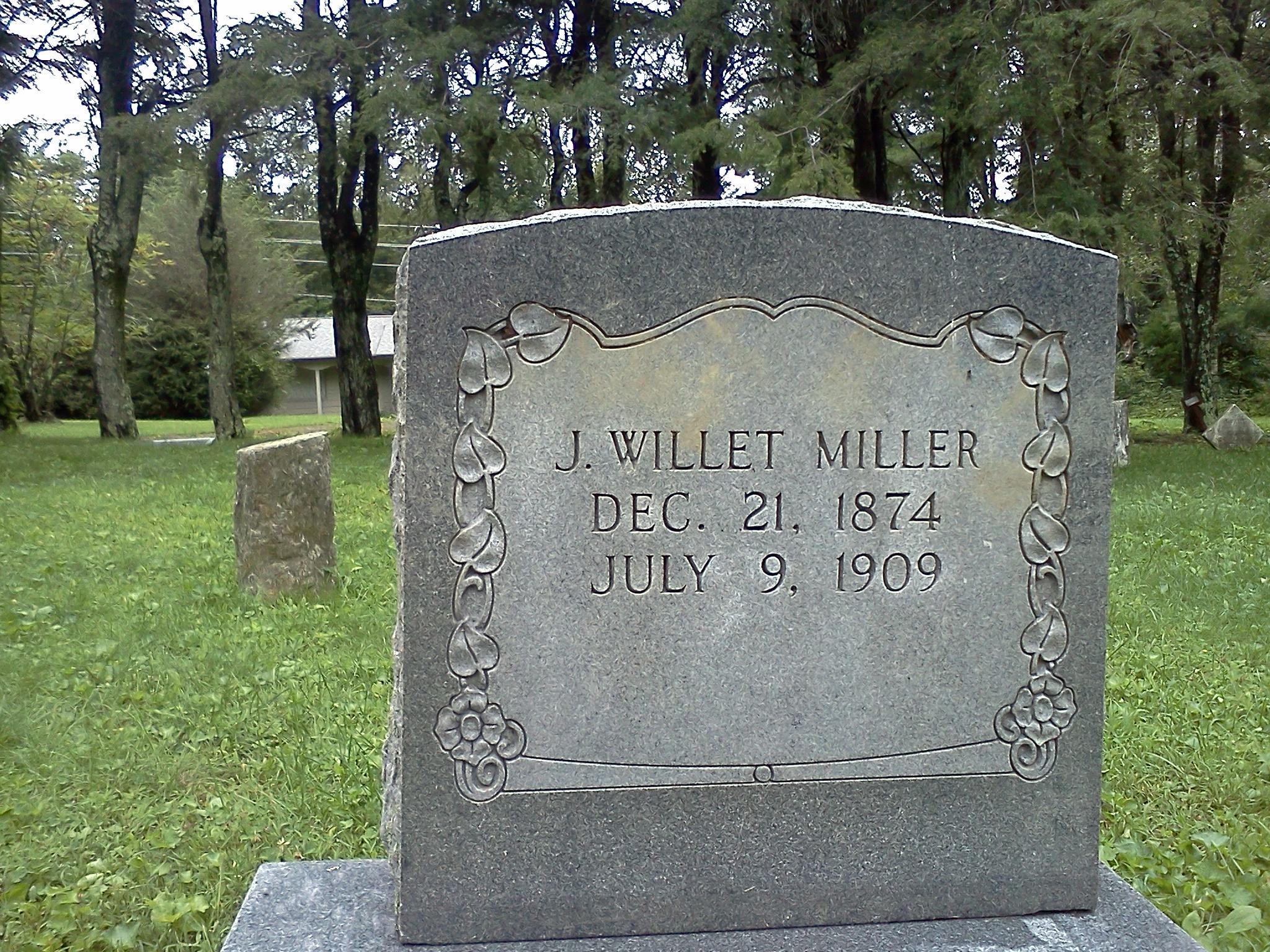 Policeman J. Willet Miller | Blowing Rock Police Department, North Carolina
