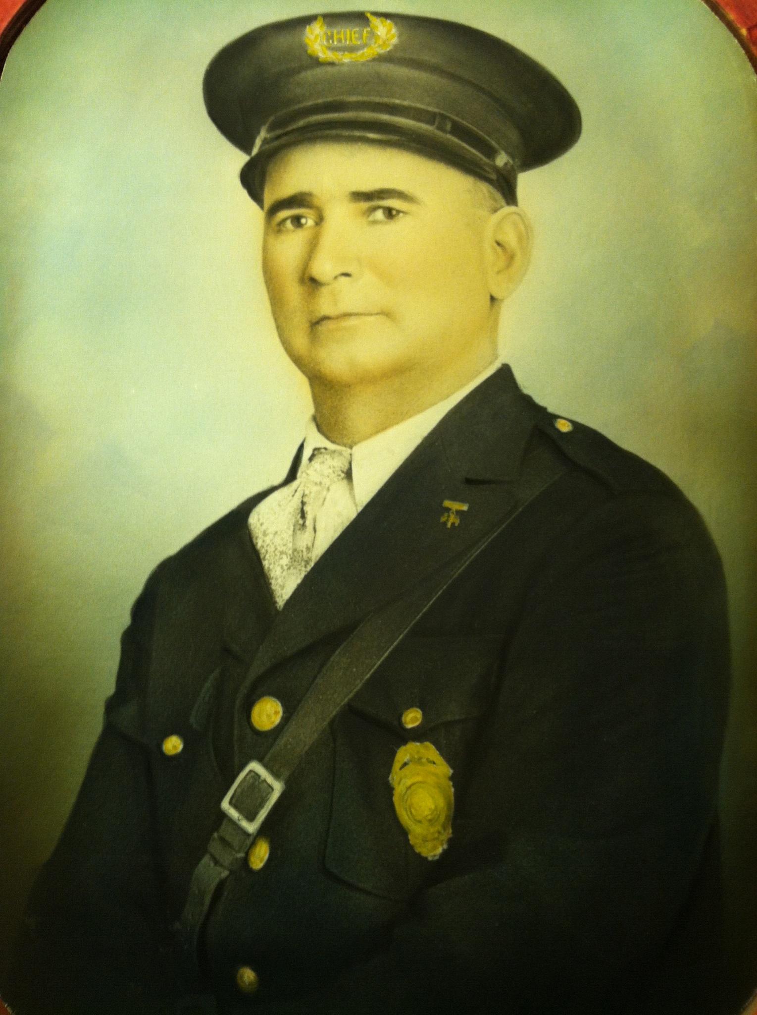 City Marshal Apolonio Pino   Santa Fe Police Department, New Mexico
