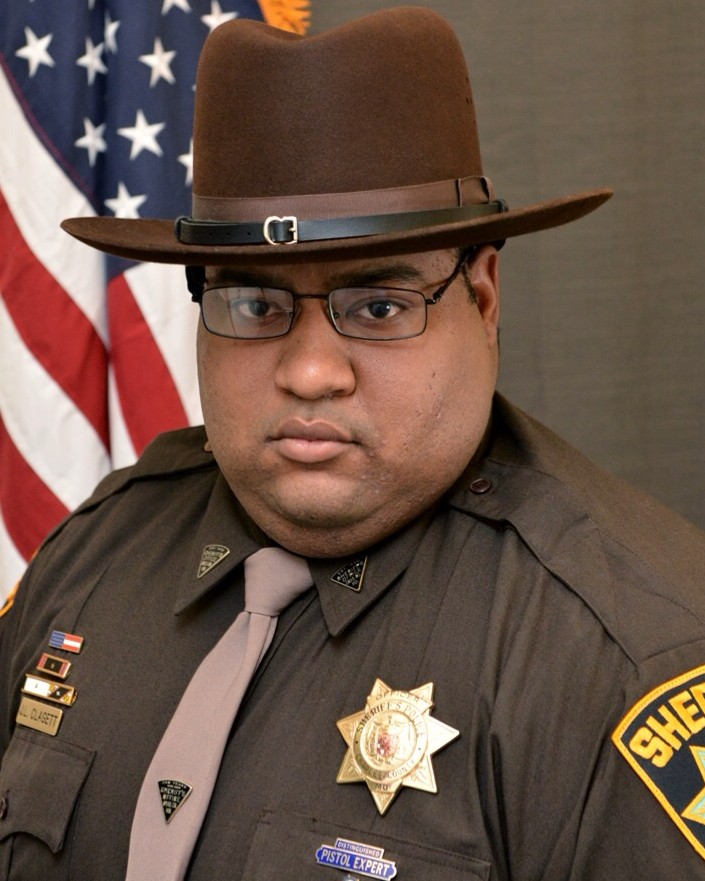 Corporal Jamel Leon Clagett | Charles County Sheriff's Office, Maryland