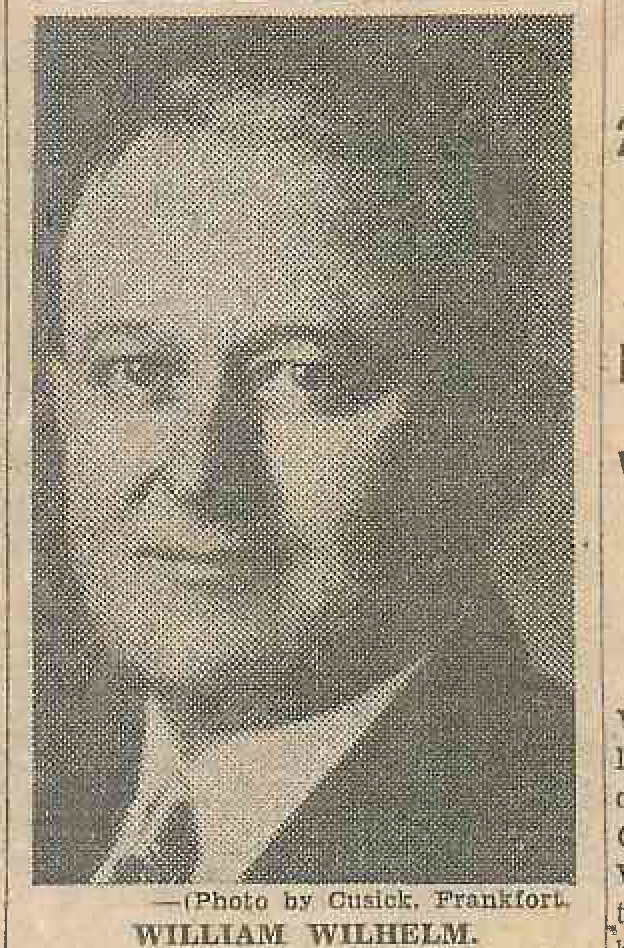 Policeman William H. Wilhelm, Jr. | Frankfort Police Department, Kentucky