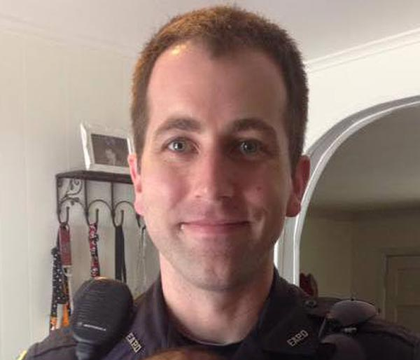 Police Officer Gregory Thomas Alia   Forest Acres Police Department, South Carolina