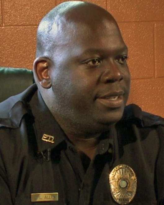 Chief of Police Darrell Lamond Allen   Marlin Police Department, Texas