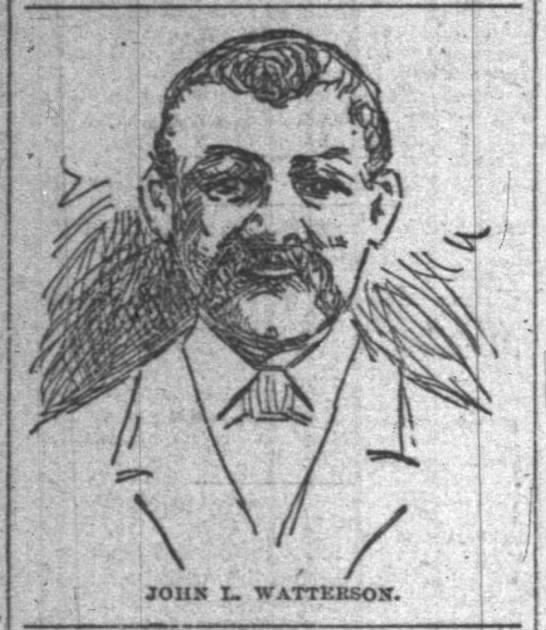 Merchant Policeman John L. Watterson   Indianapolis Police Department, Indiana