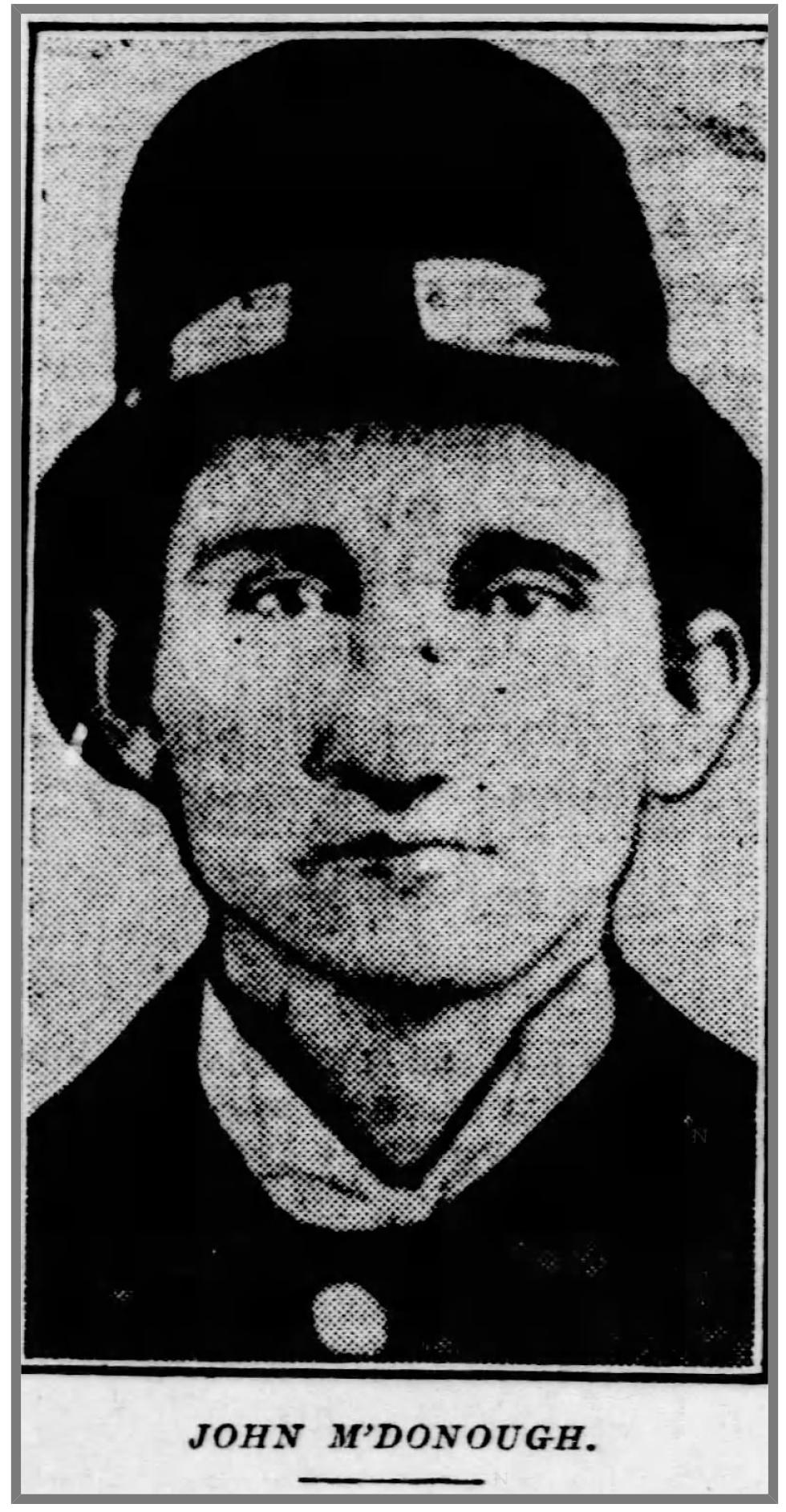 Patrolman John J. McDonough | Pittsburgh Police Department, Pennsylvania