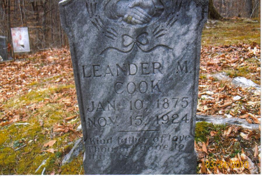 Deputy Prohibition Officer Leander M. Cook | West Virginia Department of Prohibition, West Virginia