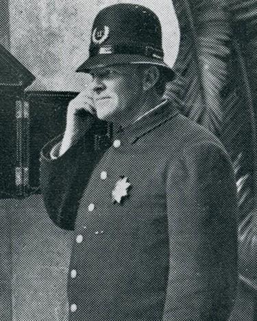 Police Officer Clarence E. Peck   Pasadena Police Department, California