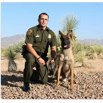 Border Patrol Agent Jose Daniel Barraza | United States Department of Homeland Security - Customs and Border Protection - United States Border Patrol, U.S. Government
