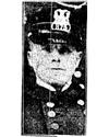 Patrolman Cornelius Broderick | Chicago Police Department, Illinois