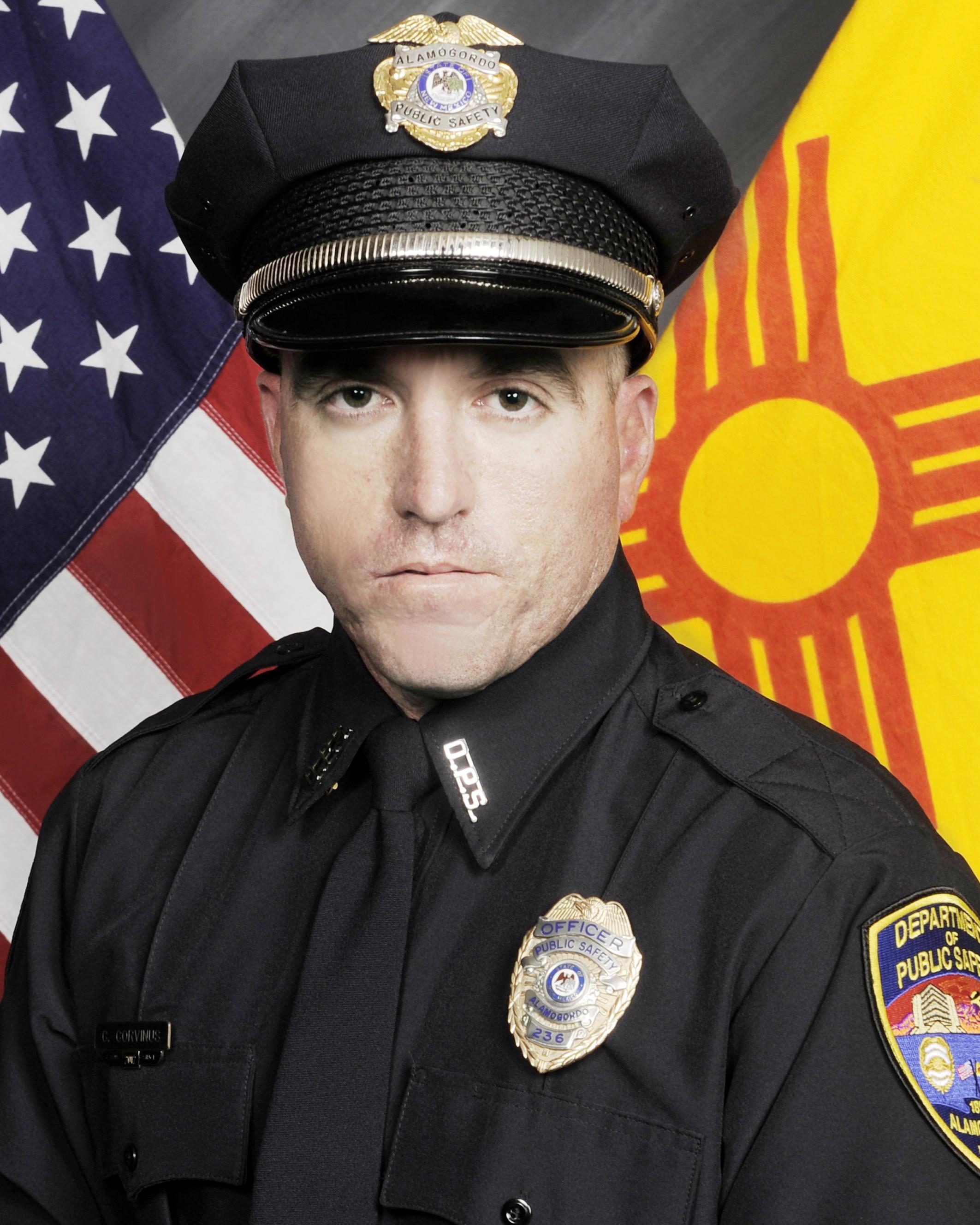 Police Officer Clint E. Corvinus | Alamogordo Police Department, New Mexico