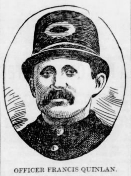 Policeman Francis Quinlan | Philadelphia Police Department, Pennsylvania
