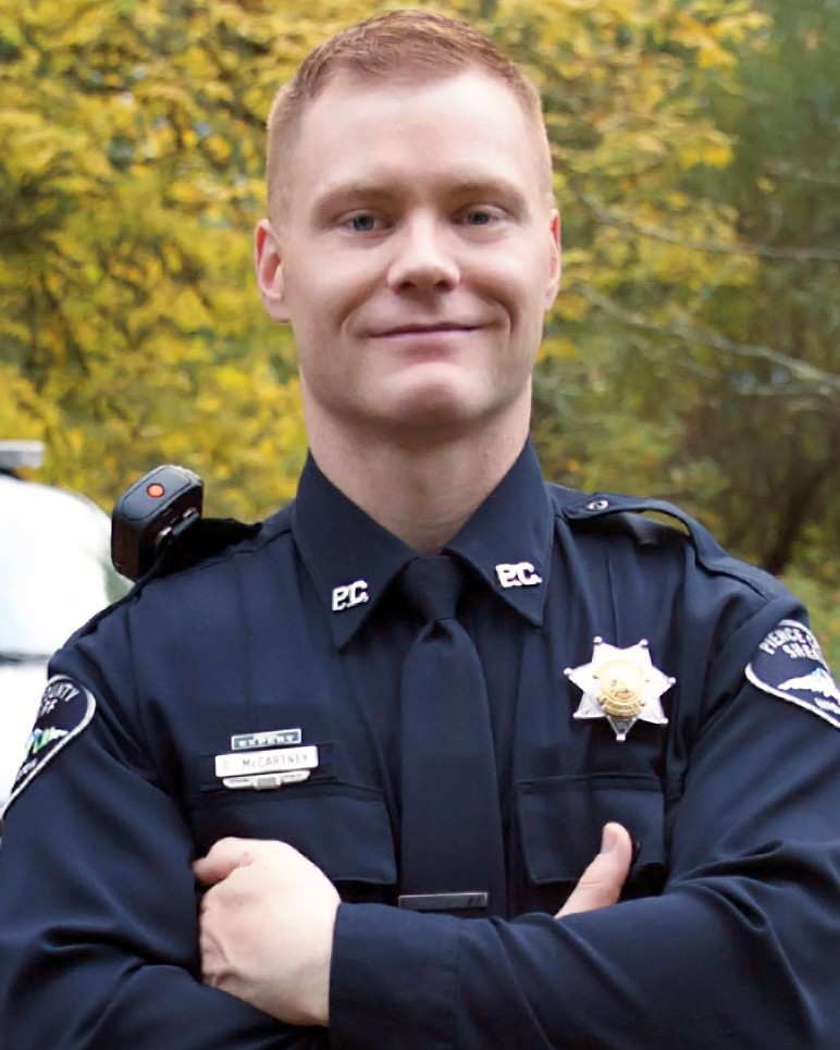 Deputy Sheriff Daniel A. McCartney   Pierce County Sheriff's Department, Washington