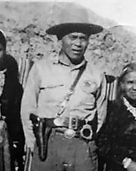 Police Officer Hoska Thompson | Navajo Division of Public Safety, Tribal Police