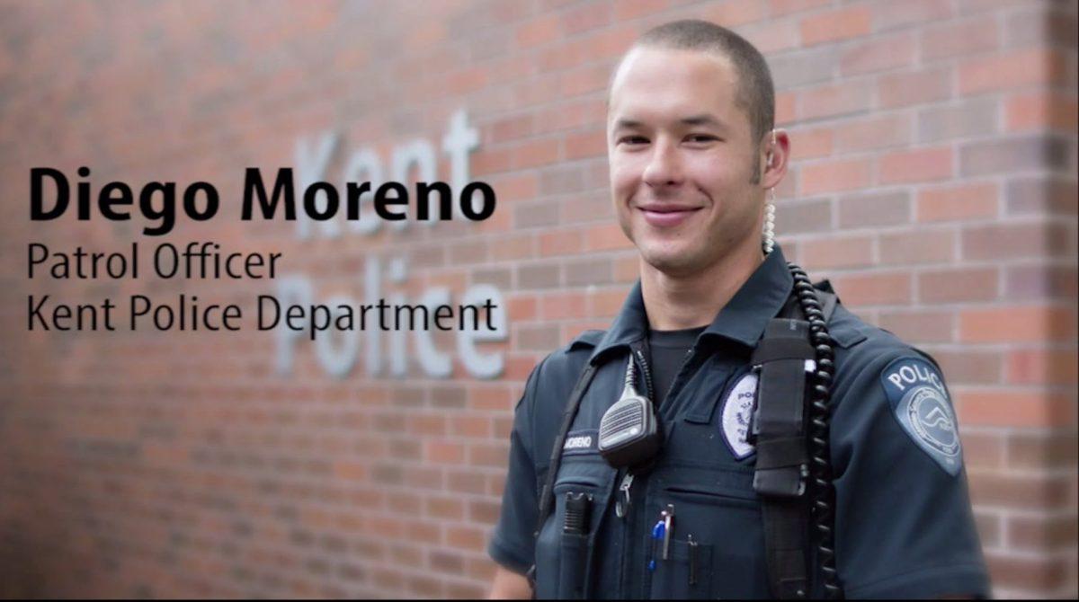 Police Officer Diego Moreno | Kent Police Department, Washington