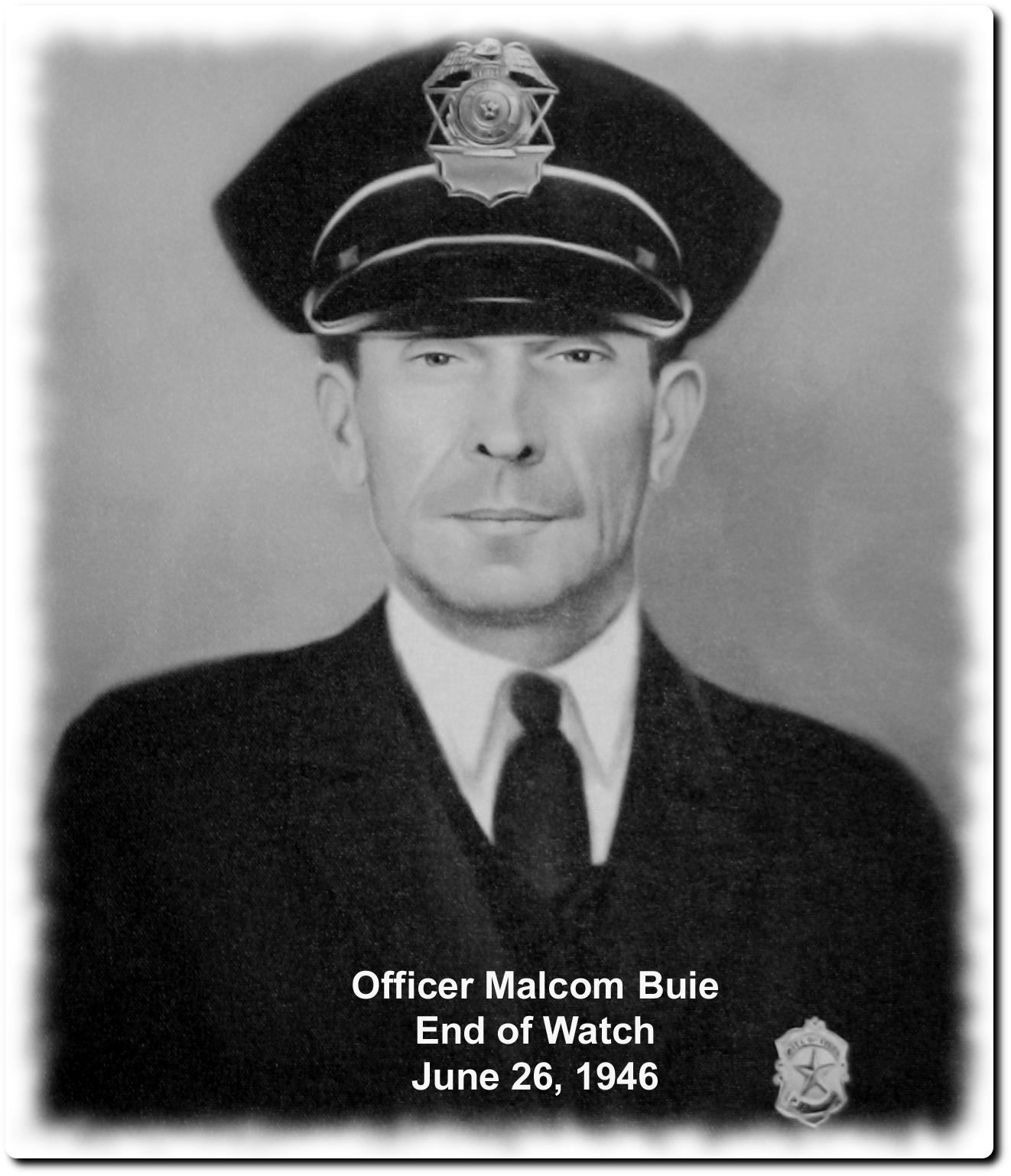 Patrolman M. Jeff Buie | Tyler Police Department, Texas