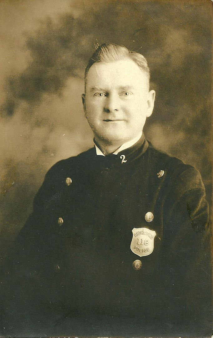 Sergeant J. Harvey Burke | Richmond Police Department, Virginia