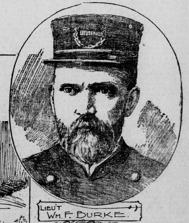 Lieutenant William L. Burke | San Francisco Police Department, California