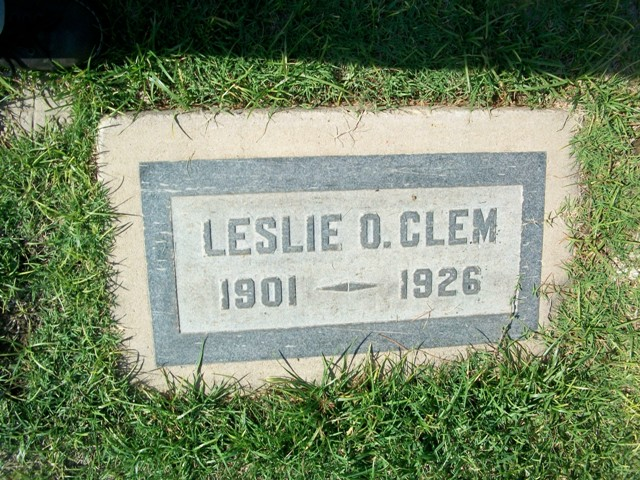 Police Officer Leslie O. Clem | Glendale Police Department, California