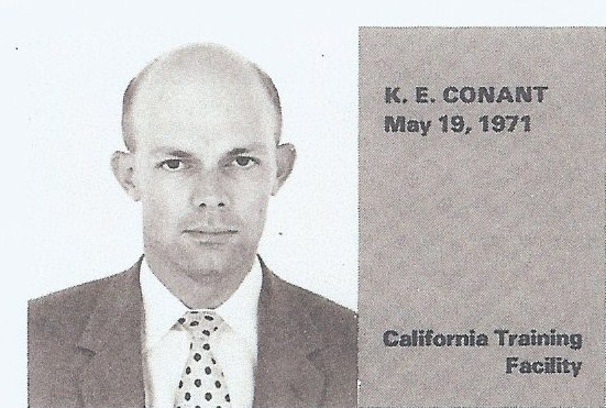 Corrections Employee Kenneth E. Conant | California Department of Corrections and Rehabilitation, California