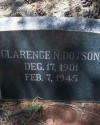 Night Watchman Clarence N. Dotson | Wickenburg Police Department, Arizona