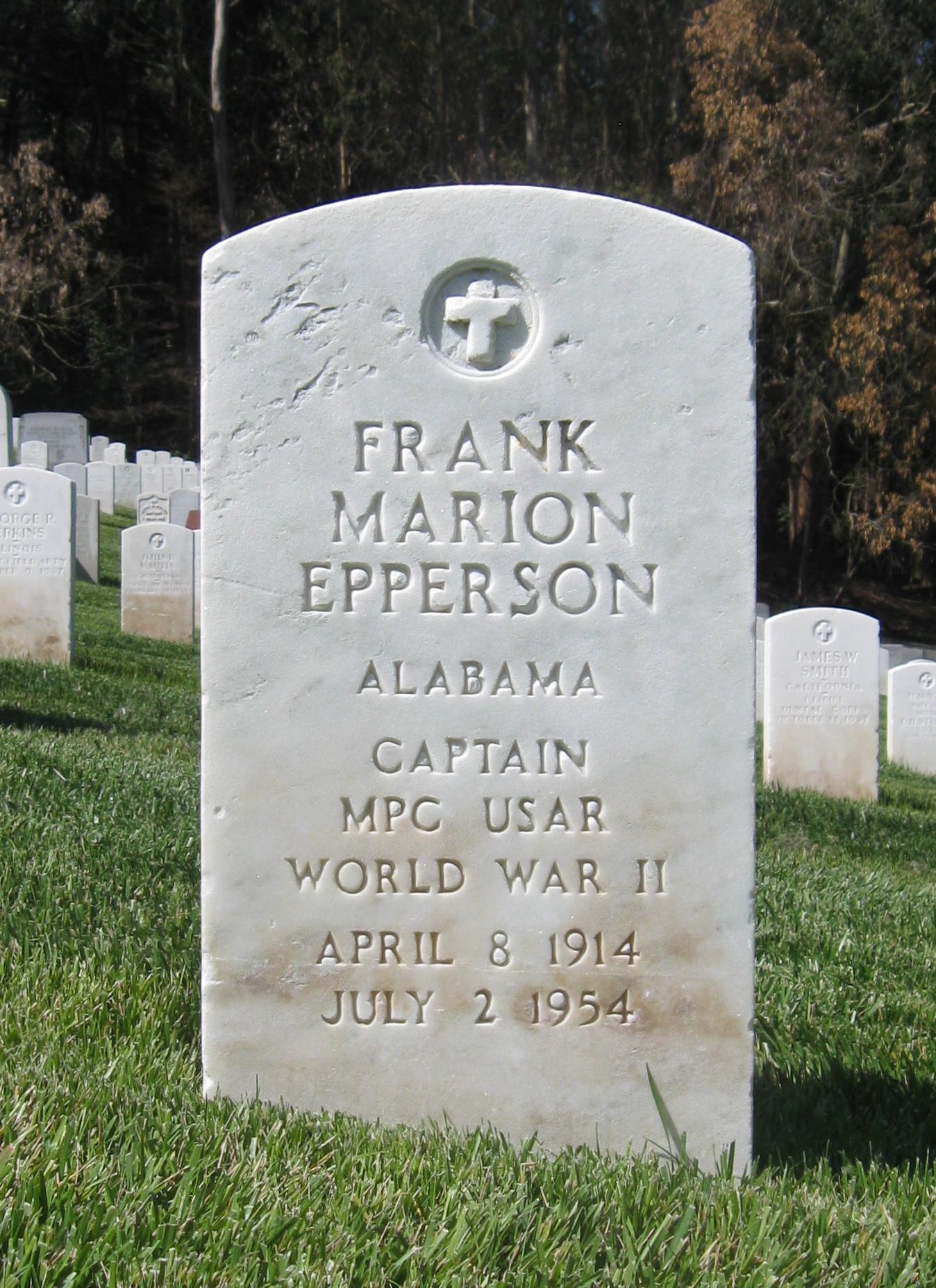 Officer Frank M. Epperson | California Highway Patrol, California