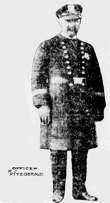 Patrolman Robert J. Fitzgerald | New York City Police Department, New York