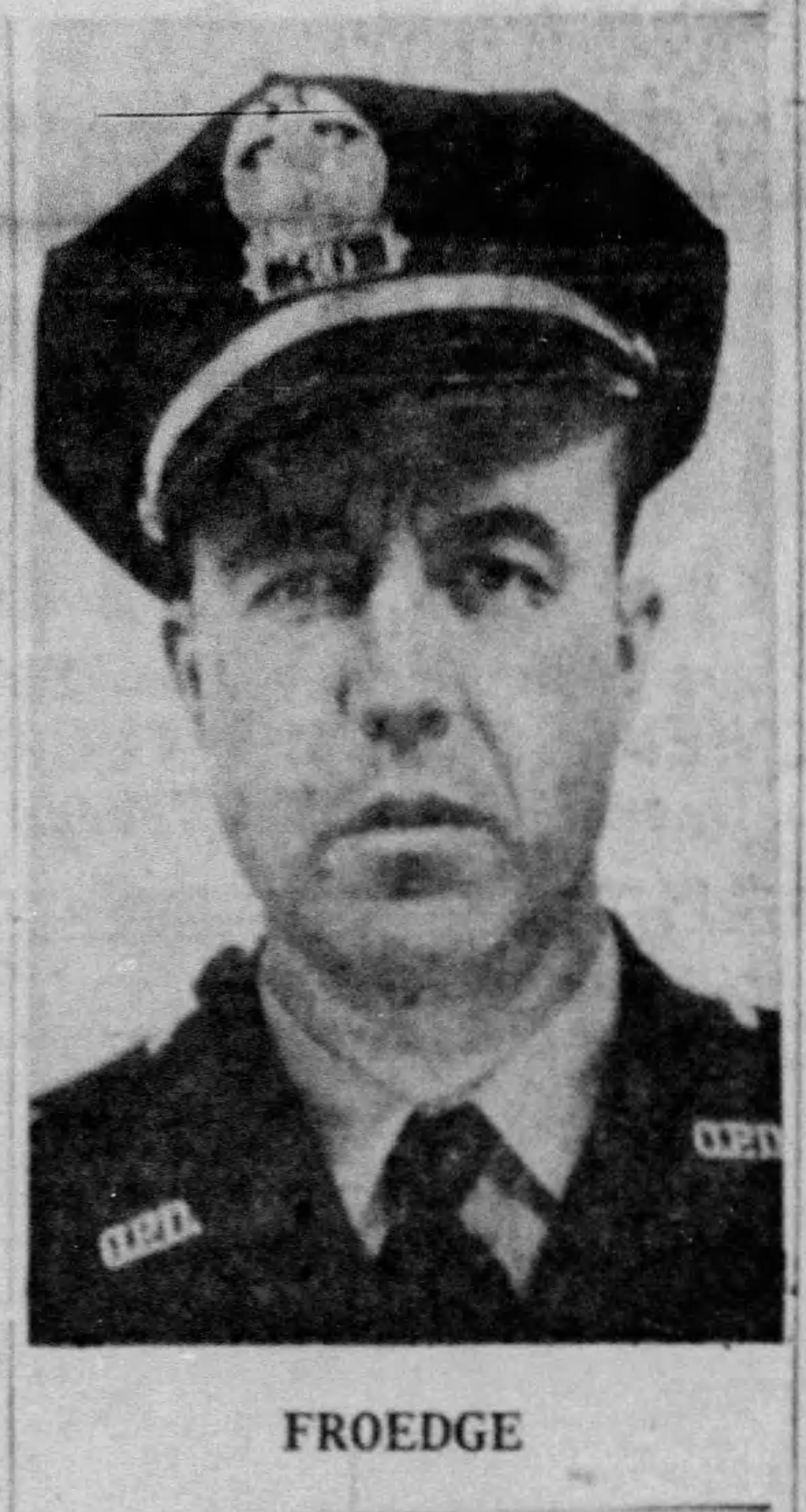 Patrolman Rufus Edward Froedge | Owensboro Police Department, Kentucky
