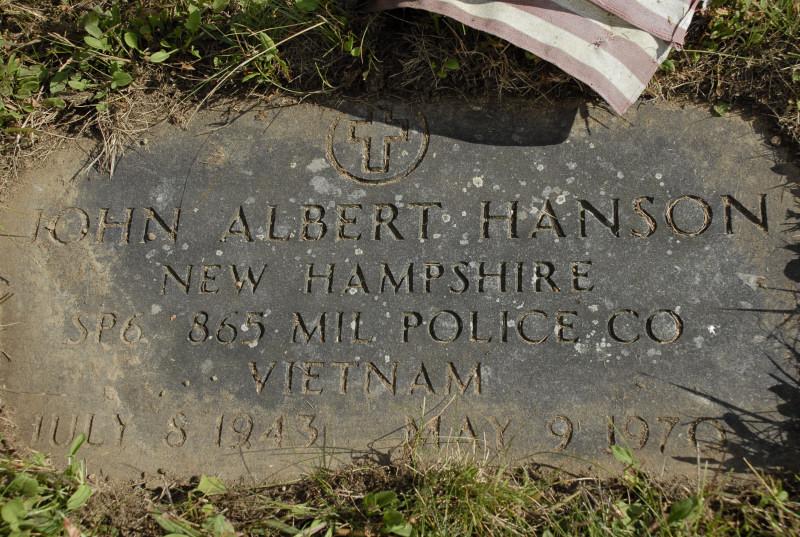 Investigator John Albert Hanson | United States Army Criminal Investigation Division, U.S. Government