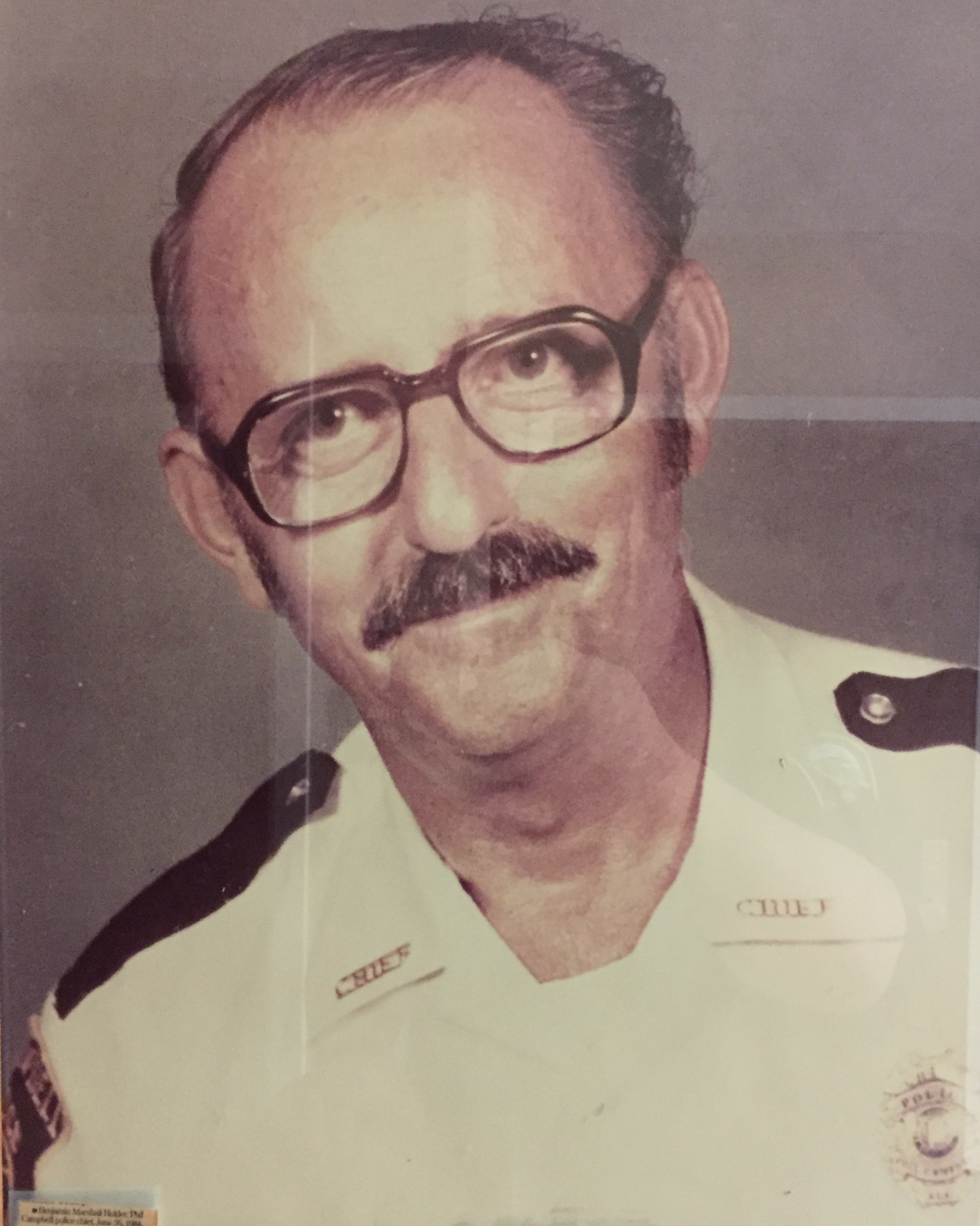 Chief of Police Benjamin Marshall Holder | Phil Campbell Police Department, Alabama