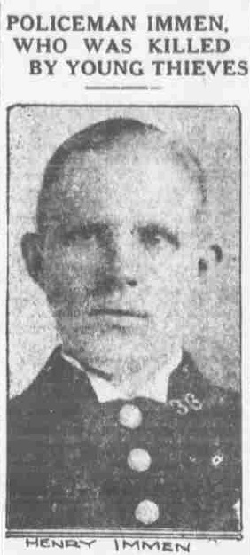 Patrolman Henry Immen | New York City Police Department, New York