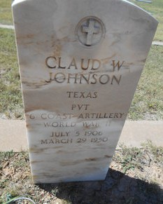 Police Officer Claud William Johnson | Lamesa Police Department, Texas