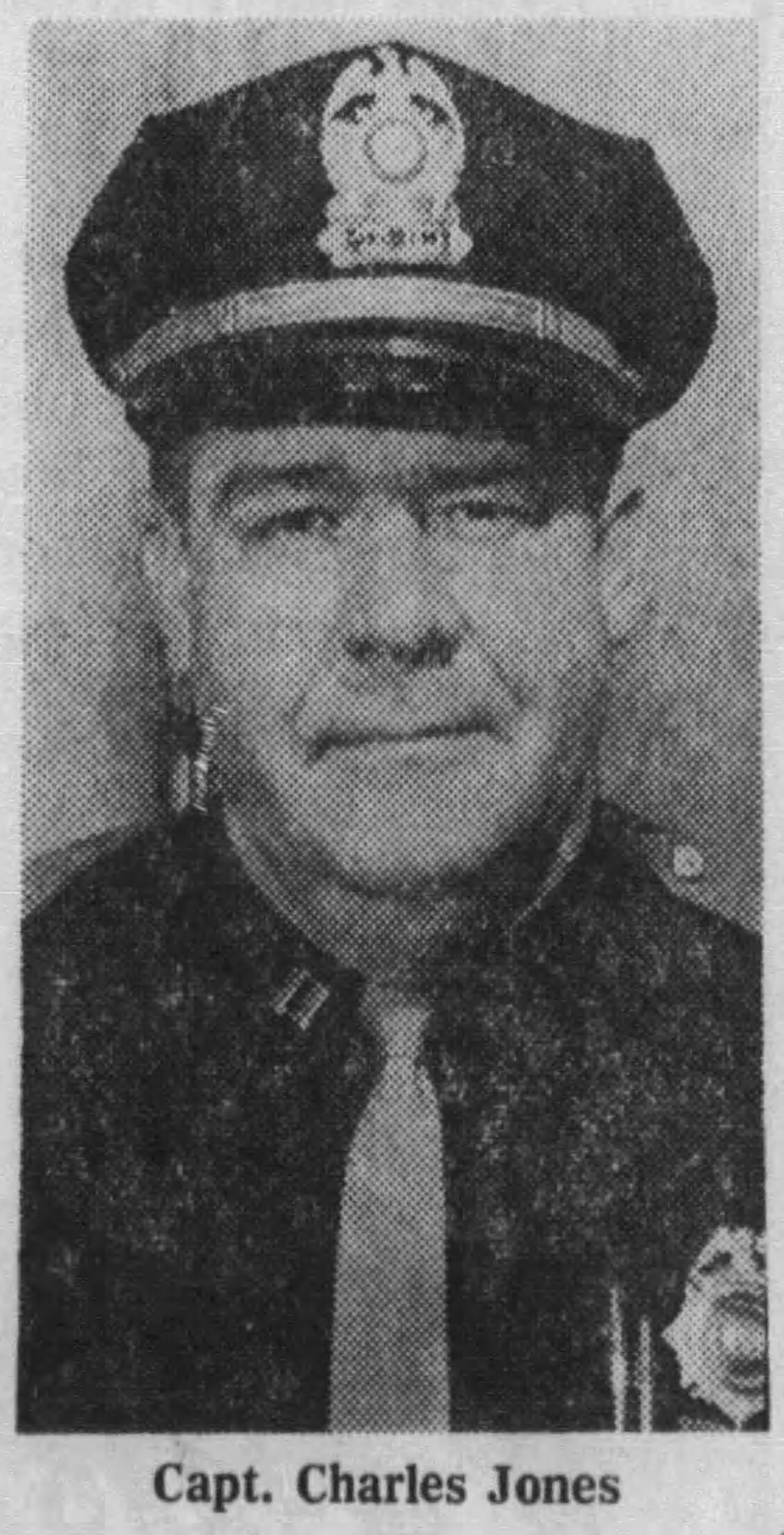 Captain Charles R. Jones | Connersville Police Department, Indiana