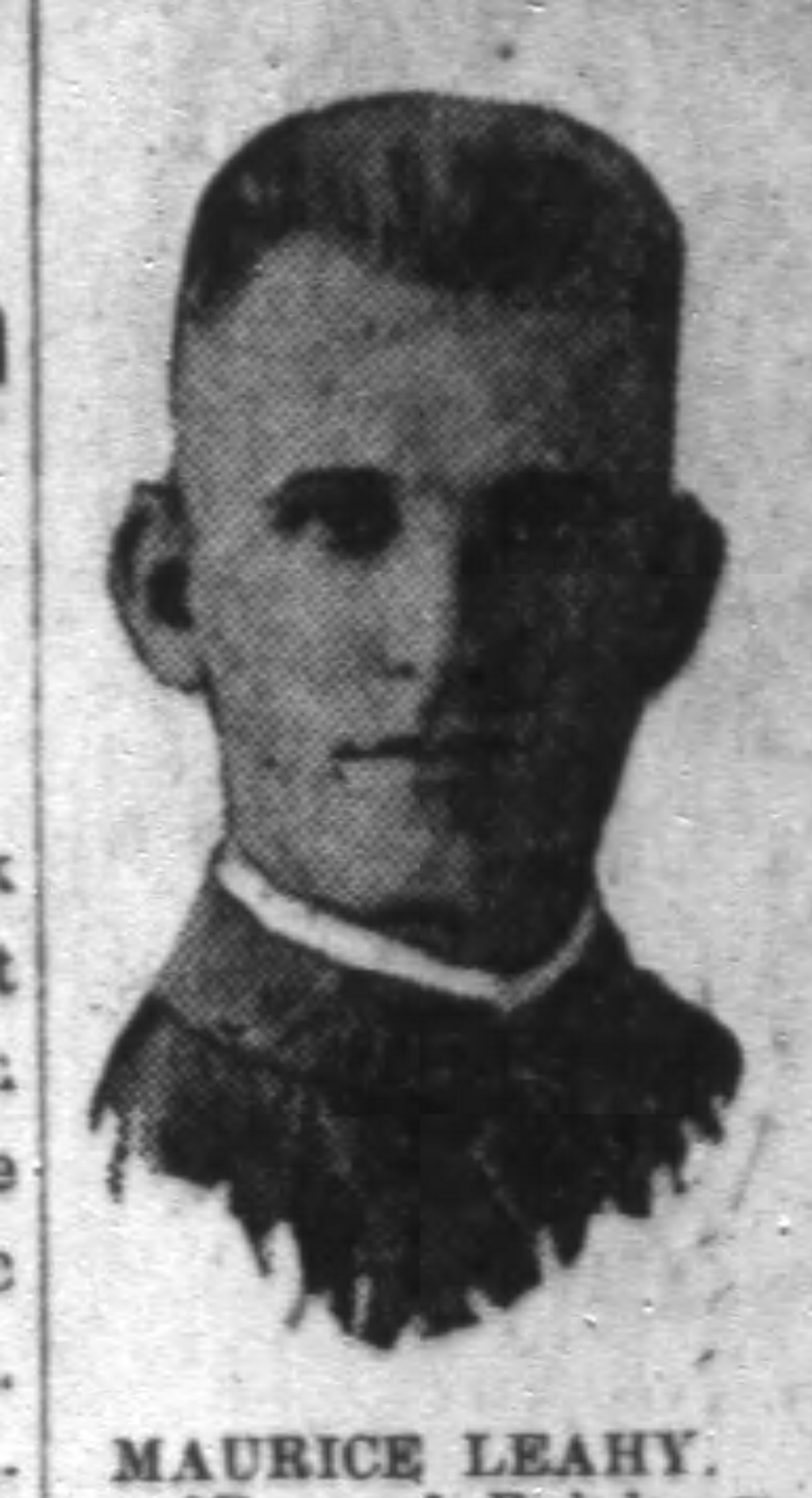 Police Officer Maurice Leahy, Jr. | Chicago and Northwestern Railroad Police Department, Railroad Police