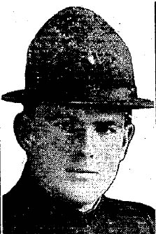 Patrolman Vinton Jerry Margretz   Waterloo Police Department, Iowa
