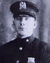 Probationary Patrolman John J. McCormack | New York City Police Department, New York