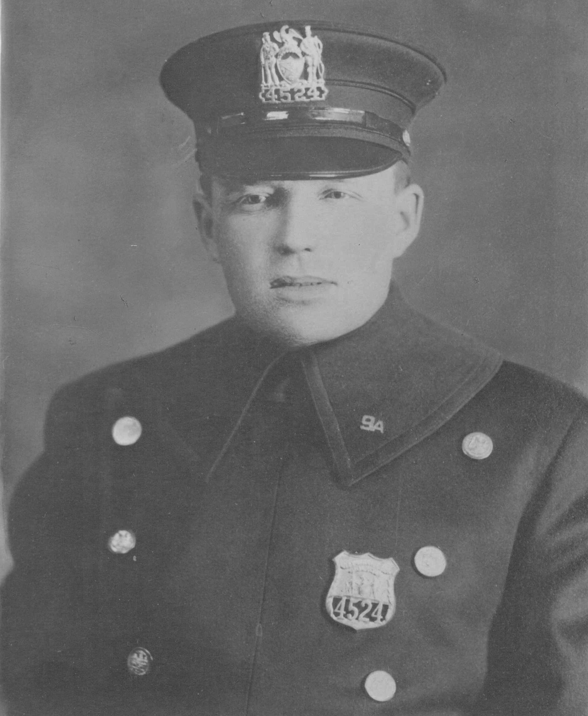 Patrolman Richard J. McCormack | New York City Police Department, New York