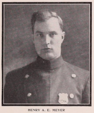 Patrolman Henry E. A. Meyer | New York City Police Department, New York
