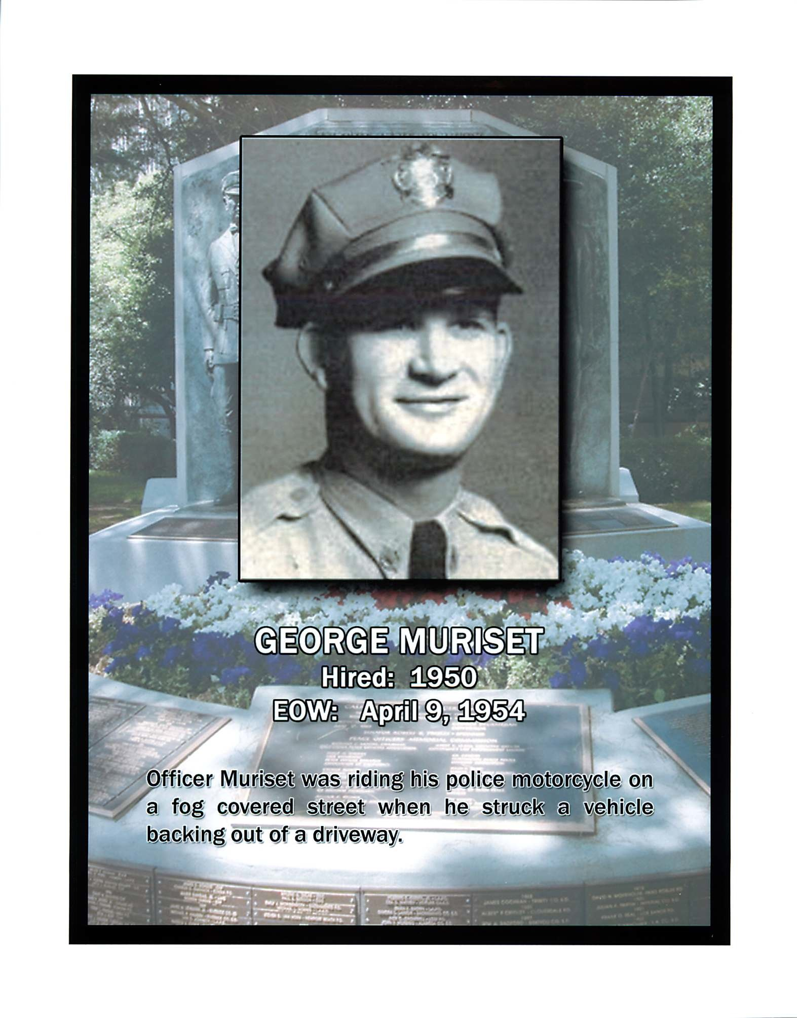 Officer George Edward Muriset | Pomona Police Department, California