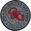 24th & 25th Judicial District Narcotics Task Force, Texas