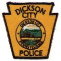 Dickson City Police Department, Pennsylvania